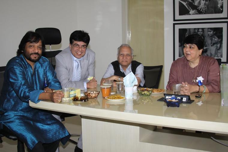 Roop kumar Rathod, Mukesh Sharma, Kumar Ketkar,& Kalpana Lazmi