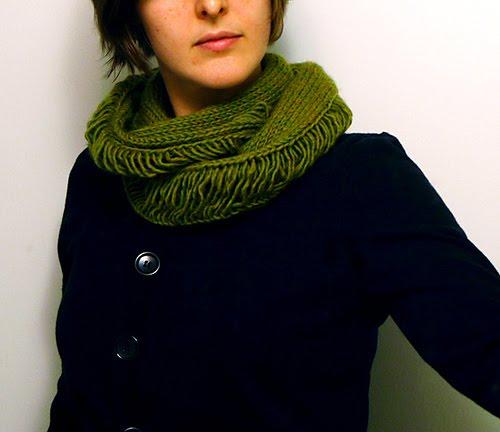 Зруйнований шарф-комір