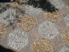 Chinese courtyard stones