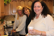 Happy faces, Bev, Kathy and Diane