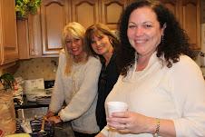 Happy faces, Bev, Kathy and Diane