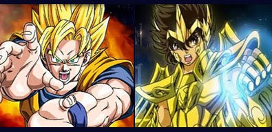 Goku vs. Seiya, el encuentro decisivo