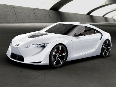 Toyota FT-HS Hybrid Sports Car