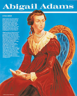 the life and works of abigail adams Abigail nabby amelia adams smith (july 14, 1765  nabby's observations of european life and  the building was opened to the public as the abigail adams smith.