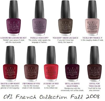 كيفية عمل المناكير الفرنسي Opi+fall+2008+french+collection