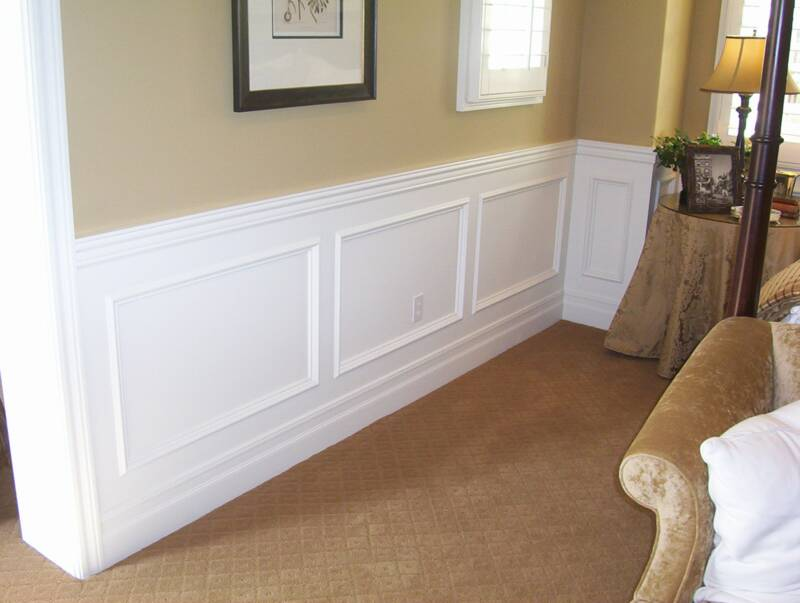 Wainscoting emily ann interiors Images of wainscoting in bedrooms