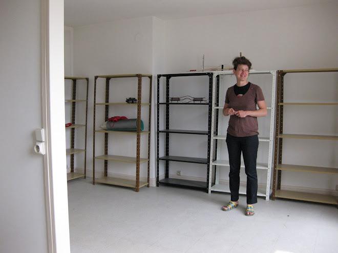 Alexandra Sa dans son appartement-atelier