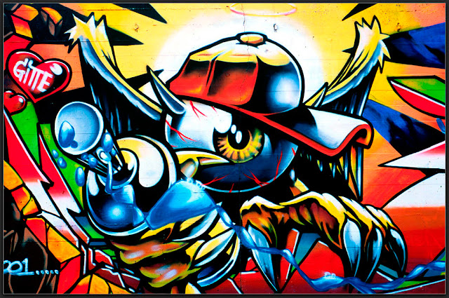 Graffiti-art-wallpaper-the-warior