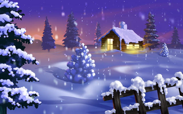 Silent Winter wallpaper animation