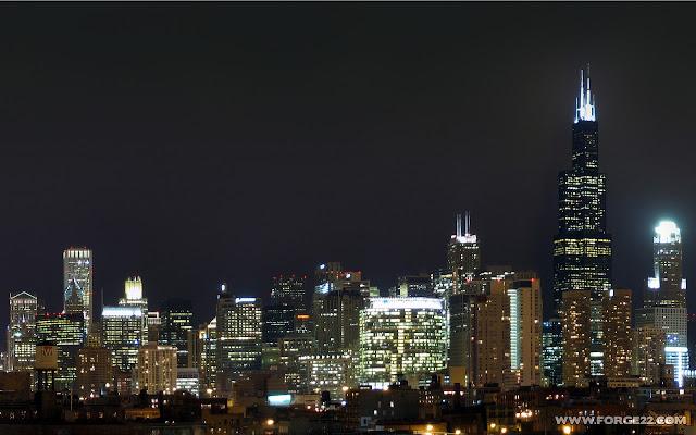 Urban Wallpaper City at The Night