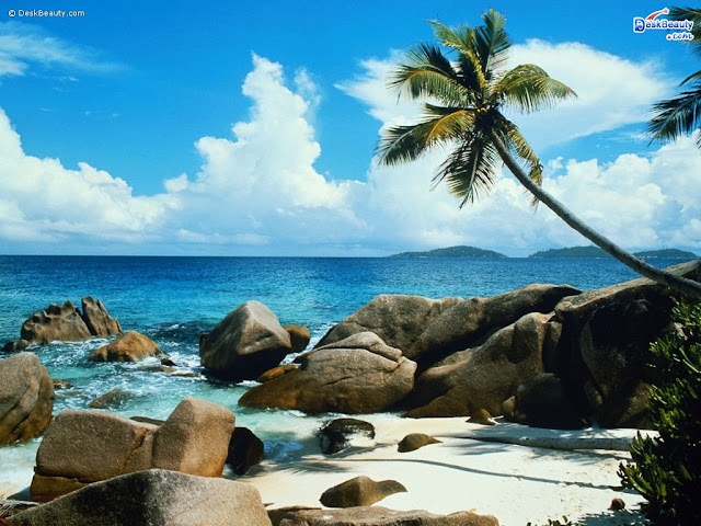 Nature Wallpaper Rocky Beach
