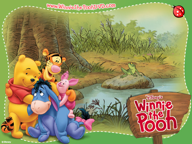 Cartoons wallpaper winnie the pooh