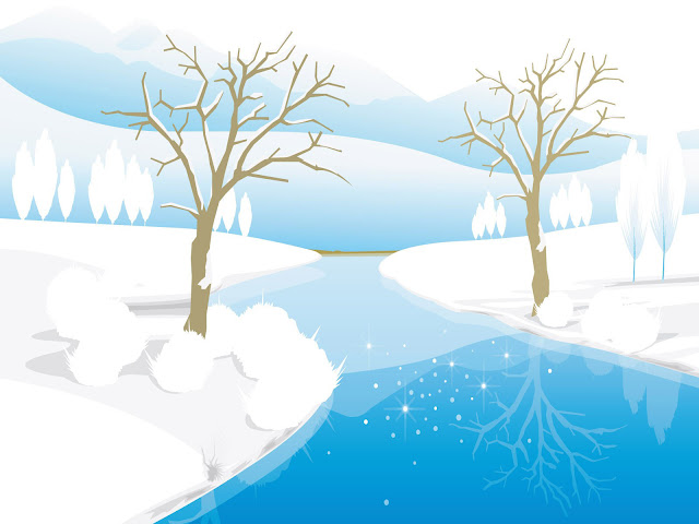 Happy new year winter animation wallpaper