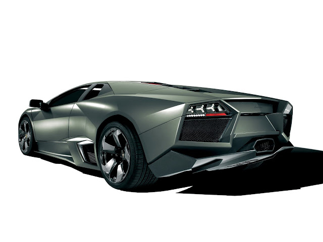 Lamborghini Reventon Backside Wallpaper