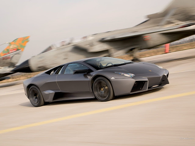 Lamborghini Reventon Speeding Wallpaper