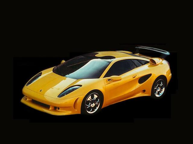 Yellow Lamborghini Cala Wallpaper