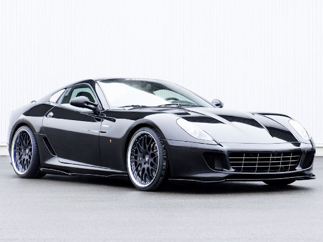 Ferrari 599 GTB Car Automotive Wallpaper