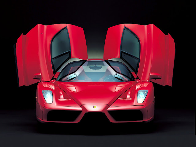 Red Ferrari Enzo Wallpaper