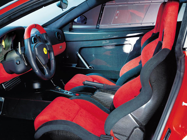 Ferrari 360 Modena Interior Wallpaper