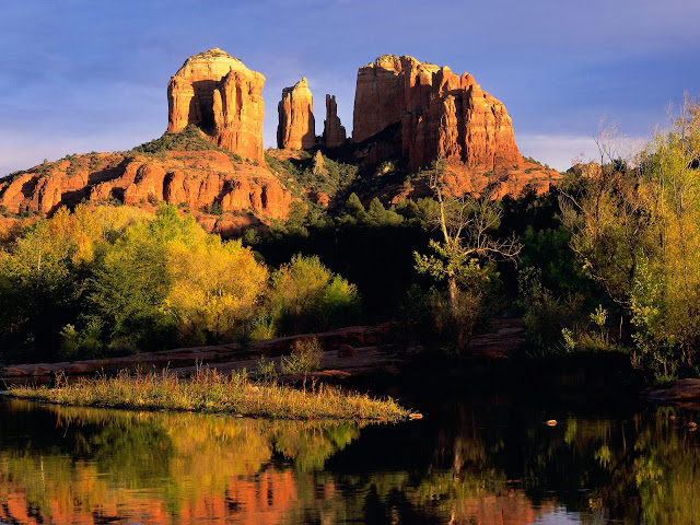 Cathedral rock sedona arizona nature wallpaper