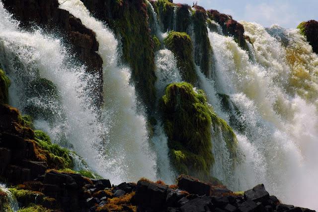 Santo antonio waterfall jari river tumucumaque national park