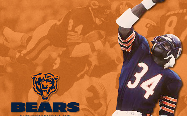 Walter Peyton Chicago Bears NFL wallpaper