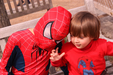 My two little spider heros