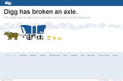 Digg's Error Page