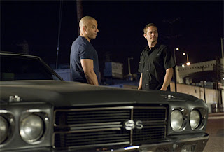 Vin Diesel and Paul Walker in Fast And Furious 4