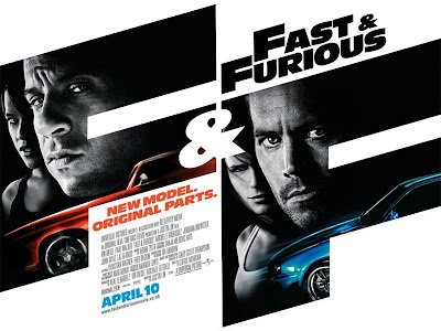 Fast and Furious UK Quad Poster