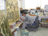 Yi Cheong-gi at work
