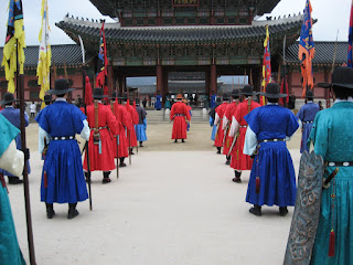 Changing of the Guard at Gyeongbokgung