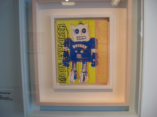 Andy Warhol's Moon Explorer Robot