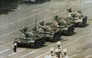Tianenmen Tank Man--did not actually change things, did he?