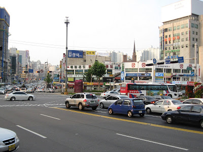 traffic at Seouldae