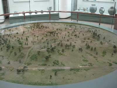 model of Mongchondoseong fortress in Mongchon museum