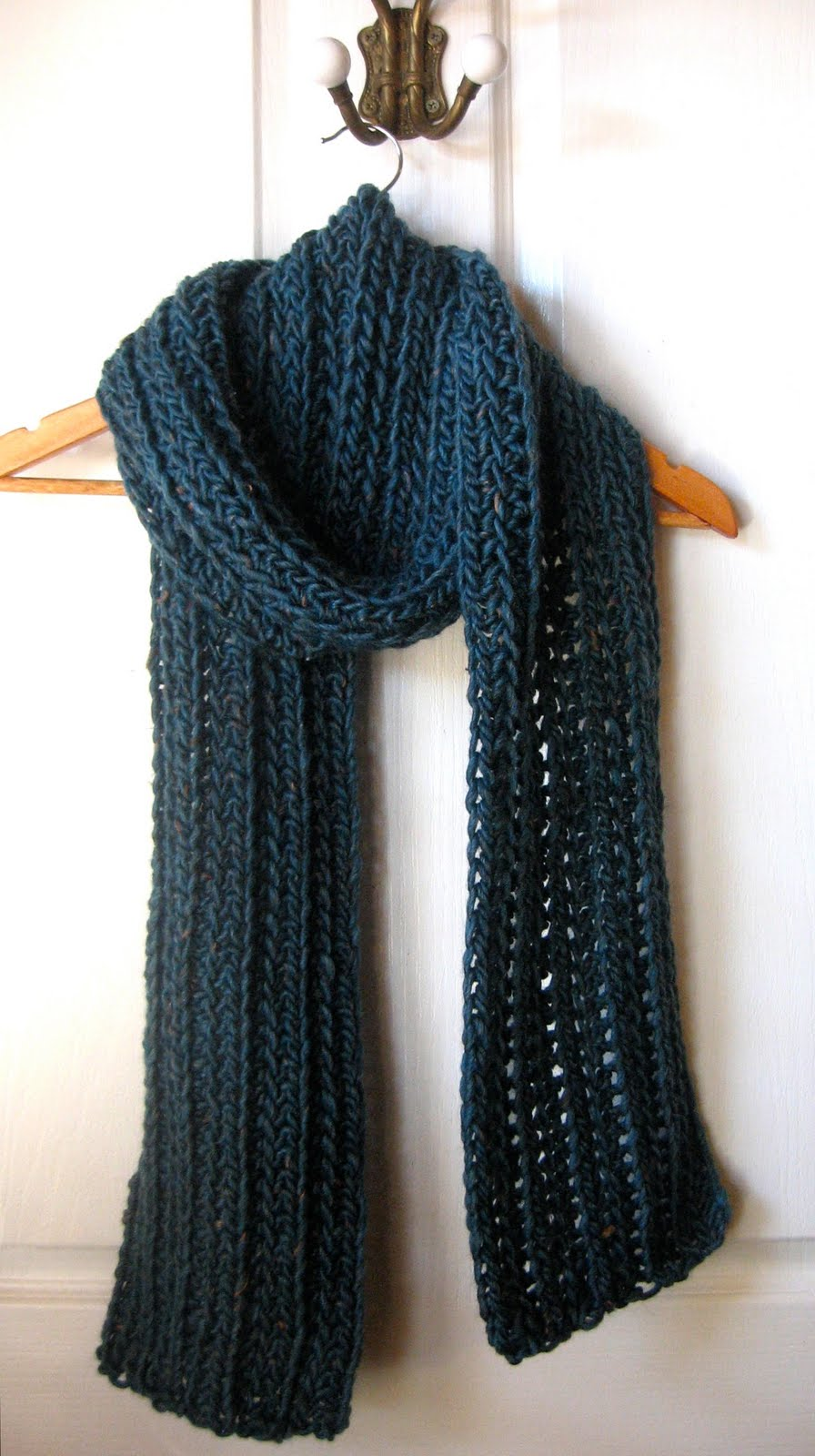 Crochet Scarf Patterns Using Q Hook : Mel P Designs: Free Crochet Scarf Pattern