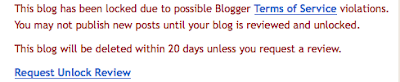 Warning all Blog Farmers!