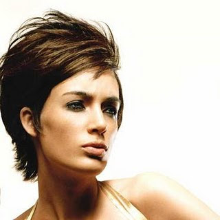 Modern Short hairstyle special trends 2010