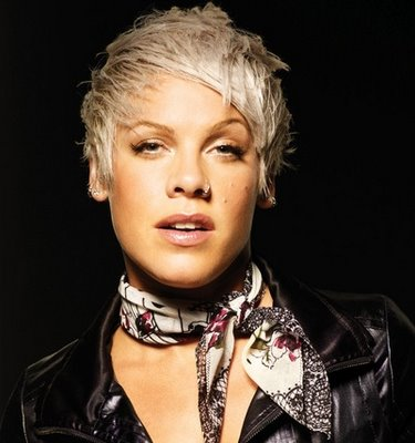 Pink is seen here while she was. New Crazy Short Hairstyles for 2010