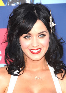 Katy Perry Black Haircuts and Hairstyles