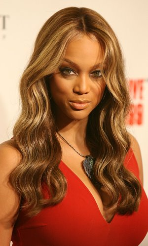 tyra banks haircut. Tyra Banks Afro Beautiful