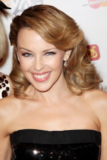 Modern Kylie Minogue beautiful glamors hairstyles 2010 2011