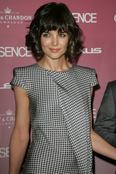 Cute Katie Holmes Hairstyles Fashion Trends 2010