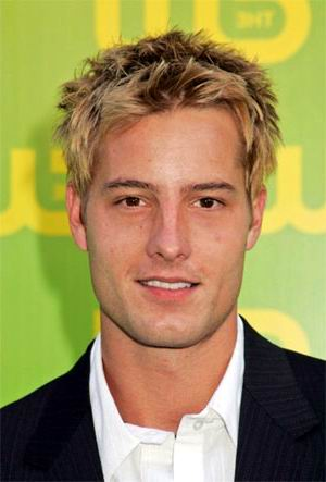 New Men Short Spiky Hairstyle from Justin Hartley 2010