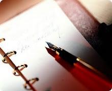 ورقه وقلم لكى نكتب اللى بداخلنا