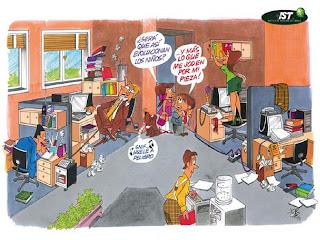 Sindicato interempresa cencosud y el comercio octubre 2007 for Riesgos laborales en una oficina