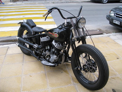Kikker Motorcycles Choppers on Gn 400 Bobber Motorcycle Pictures