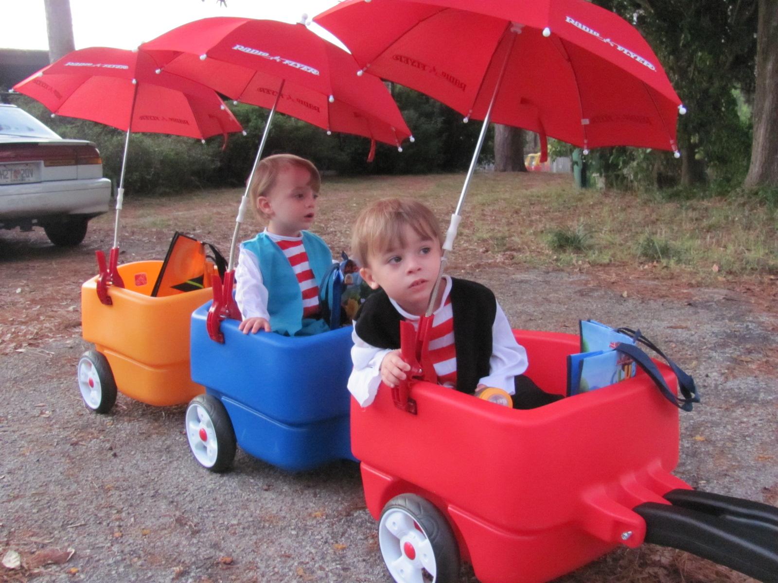 Choo Choo Wagon Update With Shade Life With Twins And