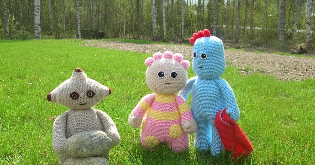 Amigurumi Iggle Piggle : Fjuktens Amigurumi Horna: Makka Pakka aaalskar stenar!